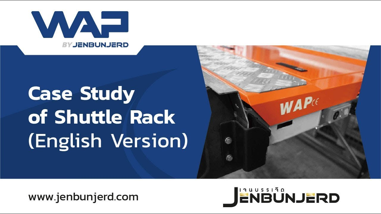 <p>Case Study of Shuttle Rack, is an innovative, high-density storage</p>